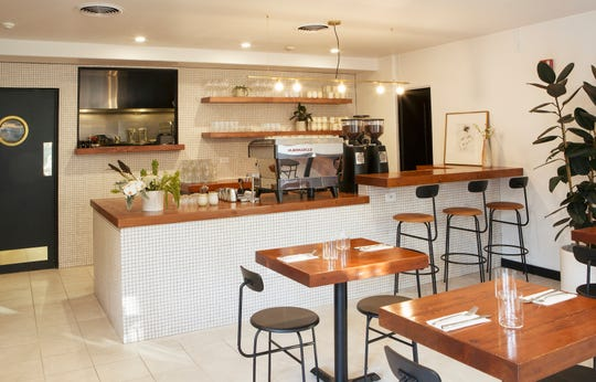 Stationæry offers breakfast, lunch and dinner with specialty coffee and wines in Carmel.