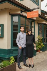 Anthony and Alissa Carnazzo opened the restaurant Stationæry in Carmel in 2018.