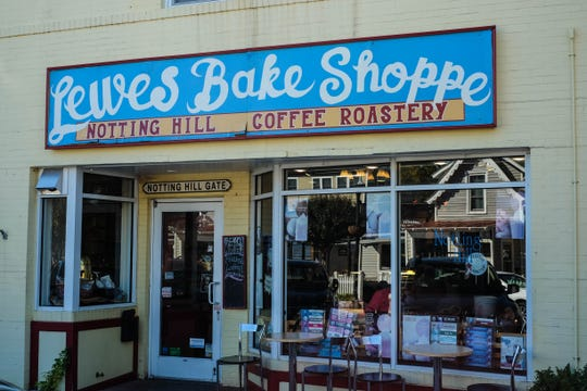 Notting Hill Coffee Roastery and Lewes Bake Shoppe in downtown Lewes is the perfect coffee-pastry-newspaper kind of place on leisurely mornings. Monday, Oct. 28, 2019.