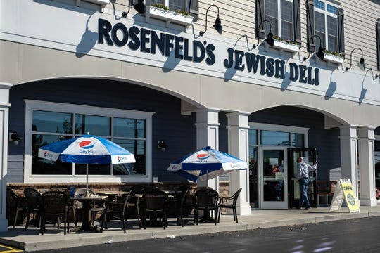 Rosenfeld's Jewish Deli in Rehoboth Beach doesn't just sell savory fat sandwiches like pastrami on rye. Check out their pastries, pies and cakes the next time you're in, and be sure to try their blueberry bread pudding. It's unlike any you've tried. Monday, Oct. 28, 2019.