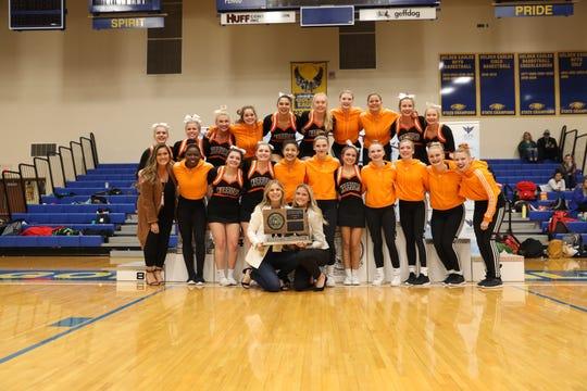 2019 Class AA Competitive Cheer champion Washington Warriors