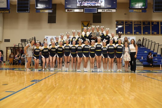 2019 Class A Competitive Cheer champion Sioux Valley Cossacks