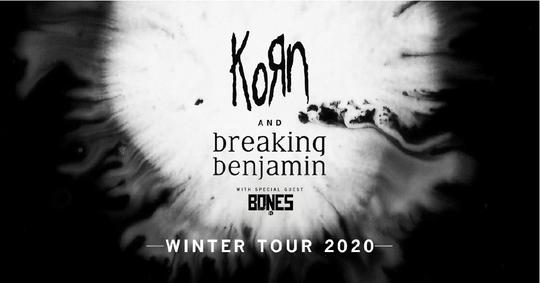 Korn and Breaking Benjamin's Winter Tour 2020
