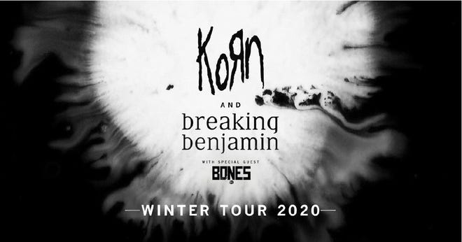 Korn and Breaking Benjamin's Winter Tour 2020