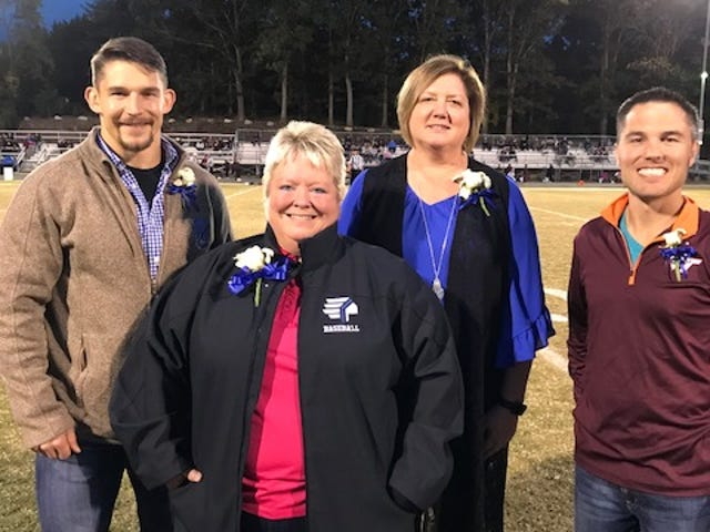 Fort Defiance welcomed five new members into its athletic hall of fame Friday night. Composing the class of 2019 are Joby Shreckhise, Becky Anhold, Fonda Harlow Morris and Justin Shoemaker. Inducted posthumously was Tom Peters.