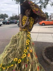 Main Street Vineland announced that Thomas W. Wallace Jr. Middle School's entry placed second in the Scarecrow Challenge.