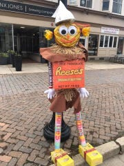 Main Street Vineland announced that Dane Barse Elementary School's entry placed first in the Scarecrow Challenge.