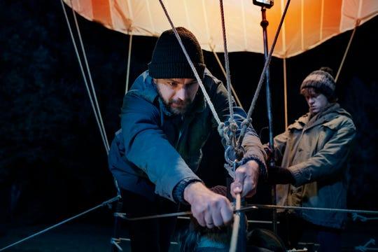 "Peter (Friedrich Mücke) and  Frank Strelzyk (Jonas Holdenrieder) in ""Balloon."""