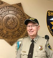 WIchita County sheriff's deputy Ed Daniels recently celebrated 50 years in law enforcement.
