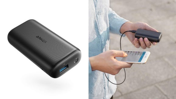 This simple charger is easy to carry around.