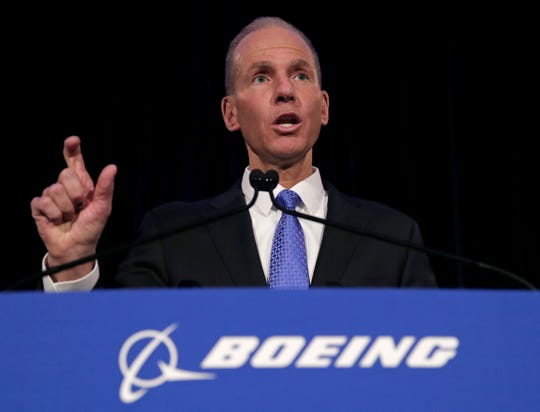 Boeing CEO Dennis Muilenburg on April 29, 2019.