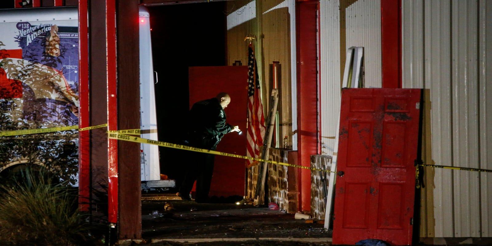 Texas Shooting Suspected Gunman Arrested Shots Fired At Vigil