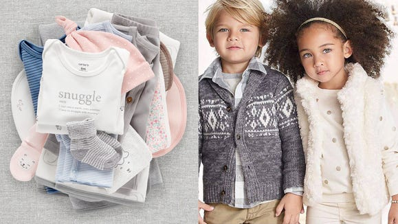 Take advantage today of Carter's huge sale on adorable essentials for kids.