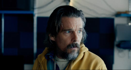 """Ethan Hawke as Russell Millings in the drama """"Adopt a Highway,"""" an RLJE Films release."""