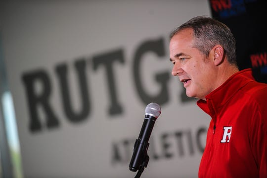Rutgers men's basketball head coach Steve Pikiell addresses the media at the RJW Barnabas Athletics Performance Center in Piscataway on Oct. 29, 2019.