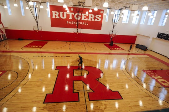 Rutgers men's baskebtall media day at the RJW Barnabas Athletics Performance Center in Piscataway on Oct. 29, 2019.