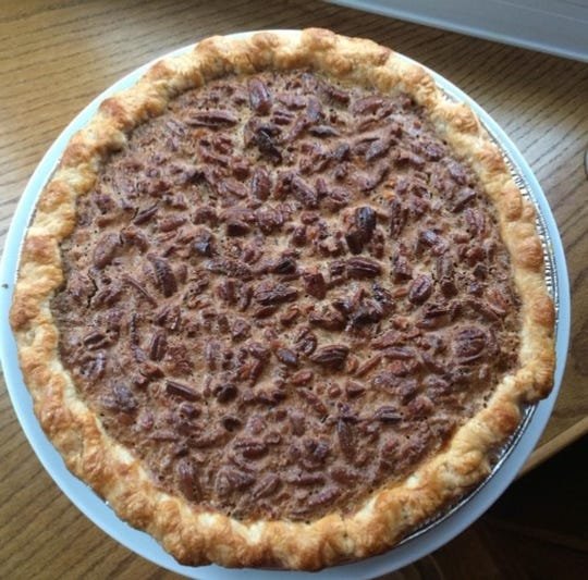 Pecan pie from 502 Baking Company in Brick.