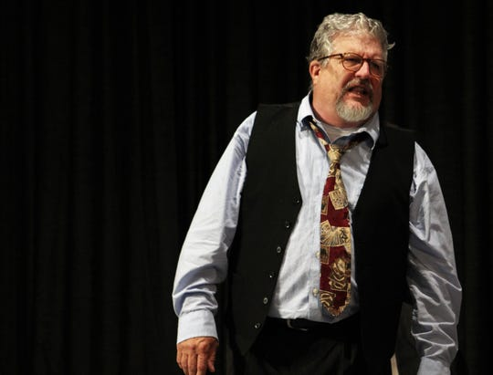 """Retired Abilene Christian University theater professor Gary Varner is back on stage with vengeance in Abilene Community Theatre's presentation of """"Death of a Salesman,"""" which resumes its run Friday."""