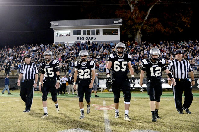 Robbinsville hosted Swain County in a Monday night football game after their scheduled Friday game was rained out on Oct. 28, 2019.