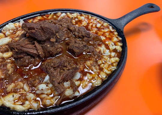 The goulash at Spacebee Bistro on Merritt Island was warm and satisfying, perfect for a chilly day.