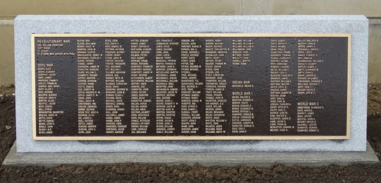 New plaques added to the Crawford County Veterans Hall of Fame memorial on Tuesday honor county residents killed while serving in the military.