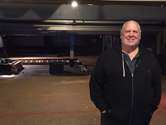 Owner Tom Massey stands Oct. 29, 2019 in the space that will become Einstein's Tap House in early 2020 on lower Church Street in Burlington.