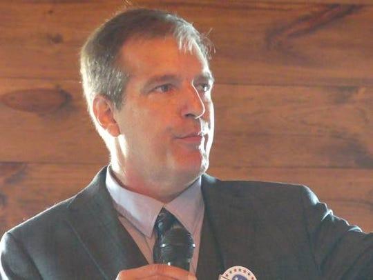 Gubernatorial candidate John Klar of Brookfield.