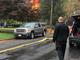 Scene of where a plane crashed into a Woodbridge neighborhood on Oct. 29, 2019.
