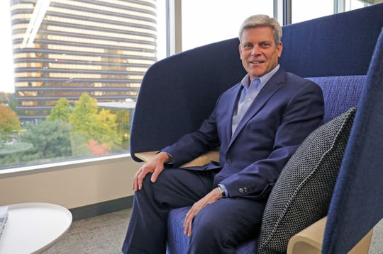 Jim Proppe, Plante Moran managing partner, in the company's Southfield offices Friday, Oct. 25, 2019.