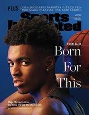 Ypsilanti Lincoln sophomore basketball star Emoni Bates on the cover of the Nov. 4, 2019, issue of Sports Illustrated.
