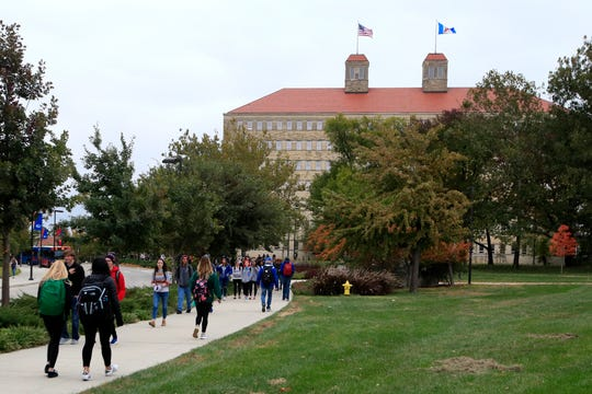 The University of Kansas campus in Lawrence, Kansas. Americans collectively owe nearly $1.5 trillion in student loans, more than twice the total a decade ago.
