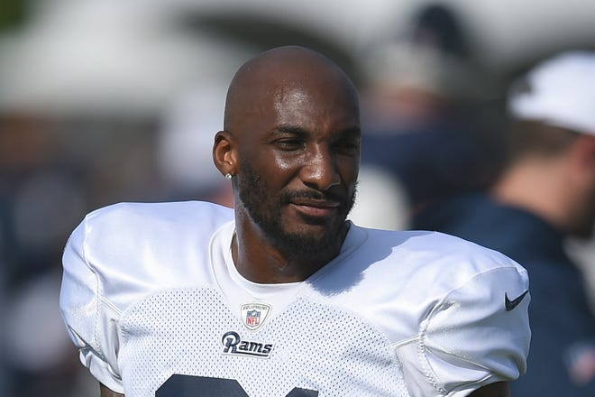 The Rams traded injured cornerback Aqib Talib and a fifth-round pick to the Dolphins for an undisclosed future draft choice.