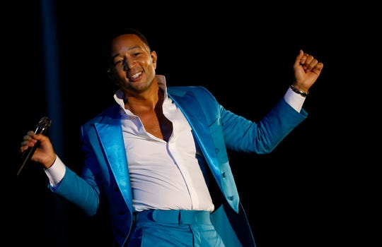 "John Legend has rewritten some of the lyrics to ""Baby it's Cold Outside."""