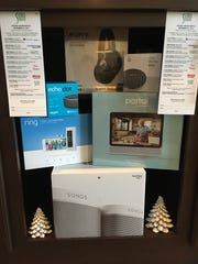 Raffle prizes at this year's SIGMA Holiday House include Sony headphones, a Google Portal, Amazon Echo Dot and Sonos speakers.