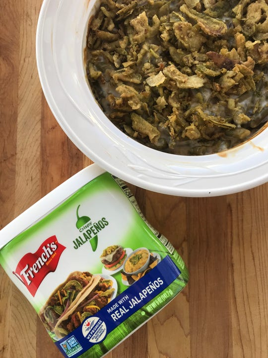 French's Crispy Jalapenos suggests using them as a topping on foods like burger and tacos. They're not wrong.