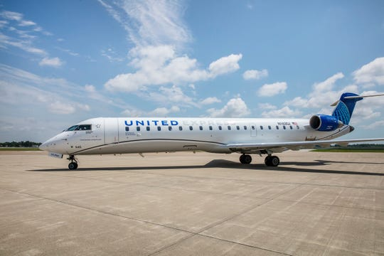 United Airlines now flies two daily round trip flights between Indianapolis and Chicago on the new CRJ-550.