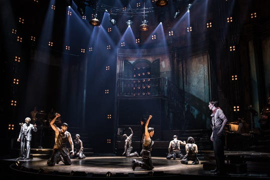 """Image from the Broadway performance of """"Hadestown."""""""