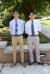 Webb's 2020 National Merit semifinalists Luke Bullen and Alex Yu are among the some 16,000 academically talented seniors to earn Semifinalist distinction.