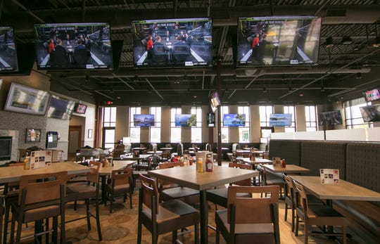 Although Joe Kool's is in the former location Jameson's Irish Pub and Grill in the Green Oak Village Place mall, all the interior has been completely changed to reflect the style of the new restaurant, shown Tuesday, Oct. 29, 2019.