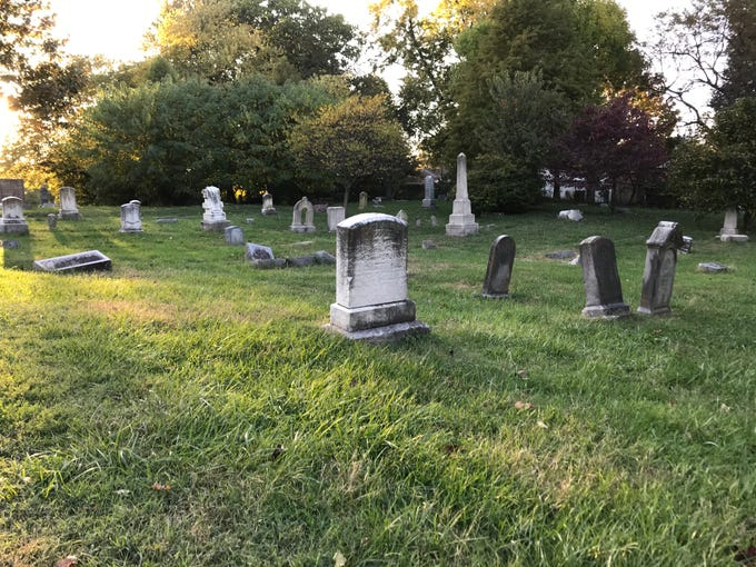 Some say Louisville's Eastern Cemetery is haunted by its dead, who are angry over its neglect and disrepair.