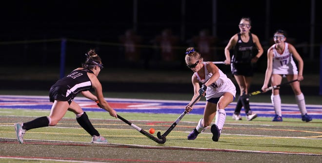 Assumption versus Christian Academy of Louisville in the KHSAA Field Hockey Championship on the CAL field in Louisville, Ky. on Oct. 28, 2019.