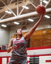 Jeff High girl's basketball player Nan Garcia will be leading the Lady Red Devils this season. She's also headed to Penn State to play women's basketball.