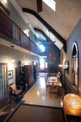 A peek inside Jacqueline Drewes' Eaton Rapids home, once a church.