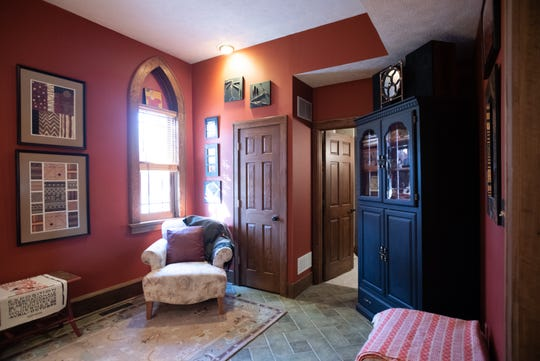 A sitting room in Jacqueline Drewes' Eaton Rapids home.