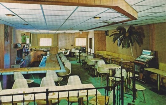 Not many photos of the Lansing Green Book boarding homes exist, but the Tropicana Lounge in Lansing was included as a black-friendly business in a later edition of The Green Book.