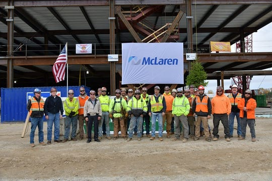 Ironworkers placed more than 5,200 beams in less than 150 days.