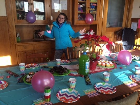 Manitowoc's Lia Haile created an organization that throws birthday parties for children living in a homeless shelter.