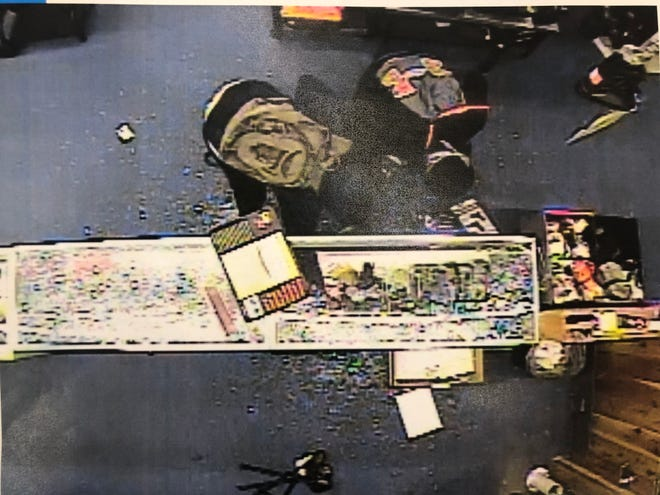 The Bureau of Alcohol, Tobacco, Firearms and Explosives and the Marion Police Department are investigating the theft of at least nine firearms from Dunham's Sports in Marion. The burglary occurred around 4 a.m. Monday at the Dunham's location at 1296 Mount Vernon Avenue, Marion.