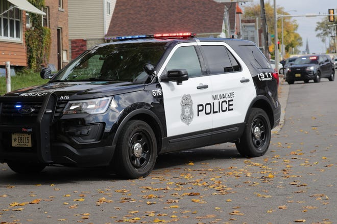 An 18-year-old who was hired in August as a Milwaukee Police aide has been charged with driving a stolen car.