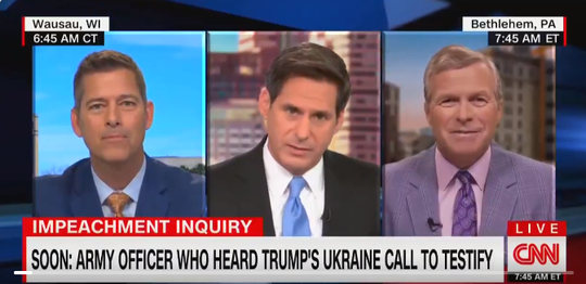 Former U.S. Rep. Sean Duffy (left) appeared Tuesday morning on CNN.